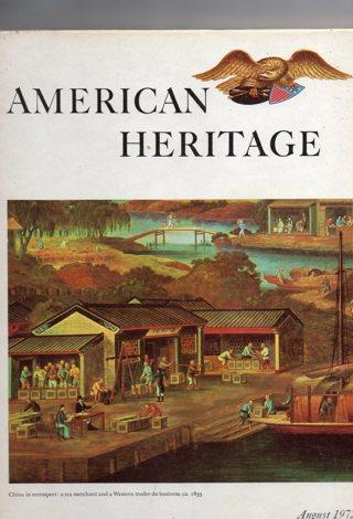 Vintage American Heritage Hard Covered Book: August 1972