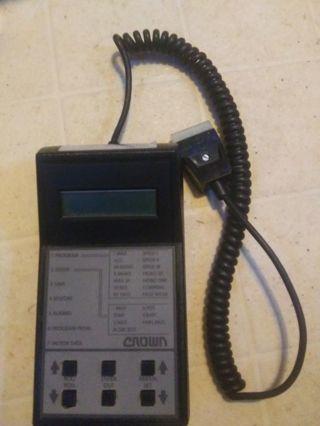 Zapi forklift analyzer- controller