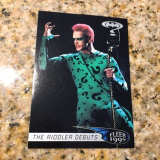 1995 Fleer Ultra Batman Forever - [Base] #70 The Riddler Debuts