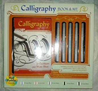 Calligraphy Book and Kit Box Set by Jo Packham and Matt Shay