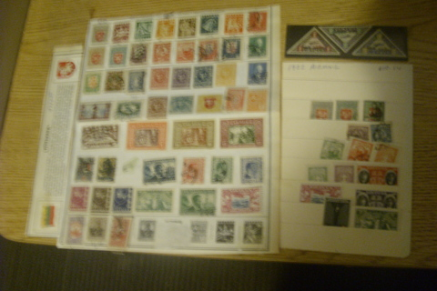 1919-34 Lithuania Stamps CV $122