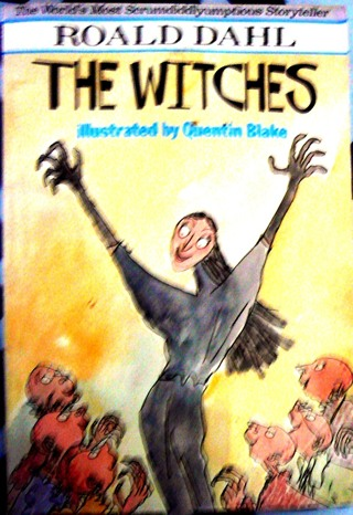 """""""Witches"""" by Roald Dahl (Vintage Book)"""