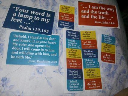 28 Bible Verse Stickers