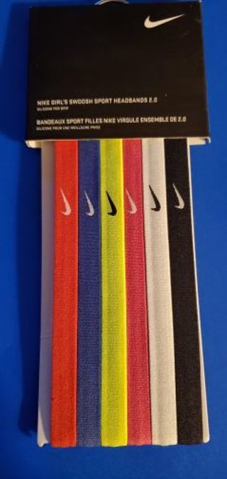 ••NIKE•• girls swoosh sport headbands