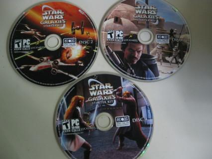 Star Wars Galaxies Starter Kit - 5 Discs