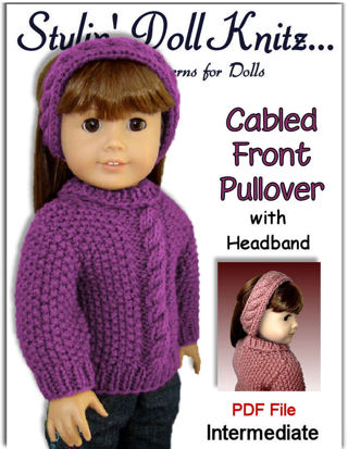 Free Pdf Knitting Pattern Fits American Girl 18 Inch Dolls