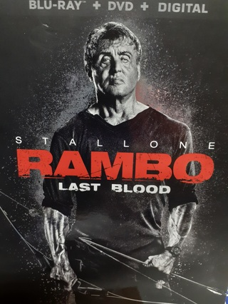 RAMBO  LAST BLOOD  (2019 RELEASE)