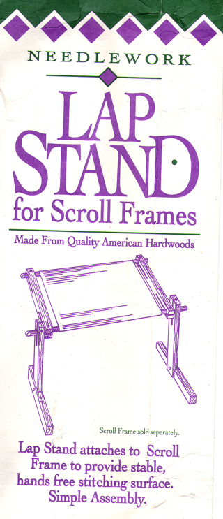 Free: Homecrafters Needlework Lap Stand for Scroll Frames ...