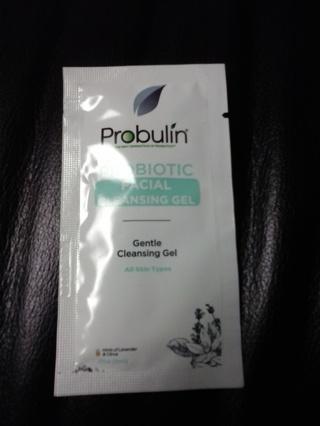 Probulin, probiotic facial cleansing gel