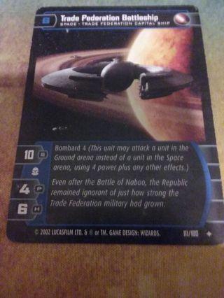 Star wars tarding card game