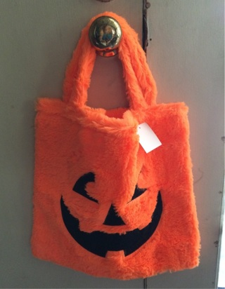 Halloween Pumpkin Treat Bag NEW