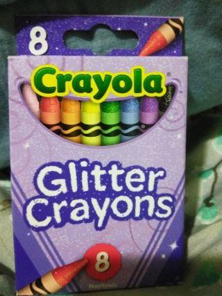 Glitter Crayola Crayons