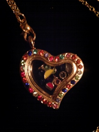 Relax Living Locket Necklace