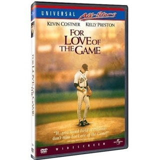 dvd-for the love of the game-kevin costner-kelly preston-used-ex-tigers
