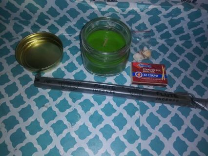 Money candle spell and accessories!