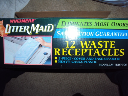 LitterMaid Waste Receptacles