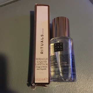 Rituals Lipstick and 2 Eye Makeup Removers