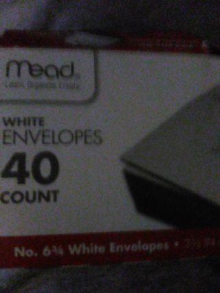 40 white envelope