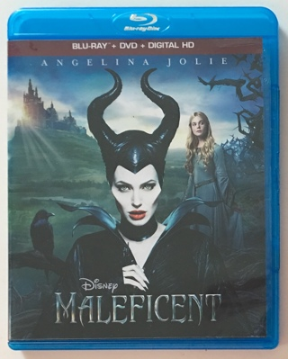Disney Maleficent (2014) Blu-ray + DVD Combo 2-Disc Set Movie - NM to MT Discs