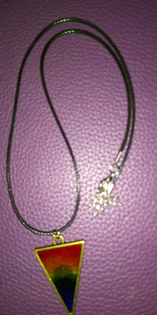 Handmade LGBTQ Pride Necklace