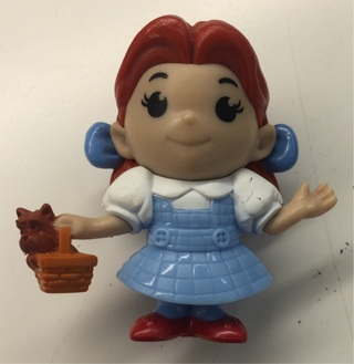 Wizard of Oz Dorothy ruby red slippers  toy hard to find