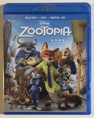 Disney Zootopia Blu-ray / DVD 2-Disc Combo Movie