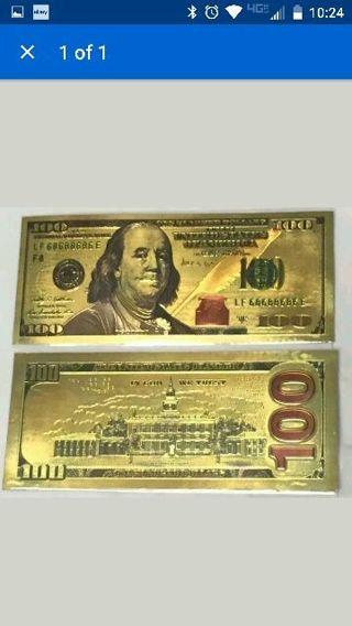 LOOK NEW STYLE COLORED .999 24k gold proof BILL SILVER BULLION SHARK TEETH QUARTER PENNY LOOK
