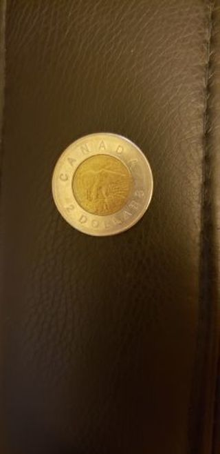 Canada $2 Dollars 2005
