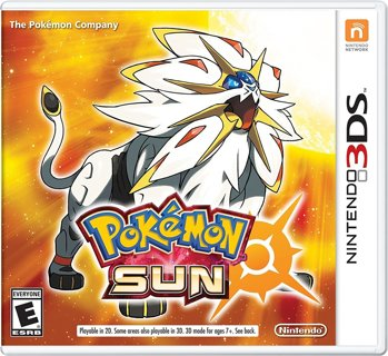 Pokémon Moon  OR Sun - 3DS