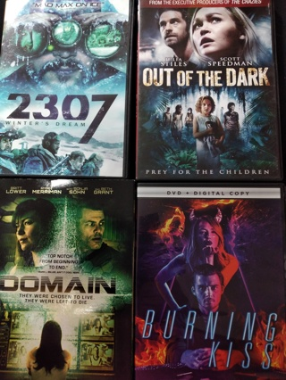 4 GREAT MOVIES (( dvd  LOT ))