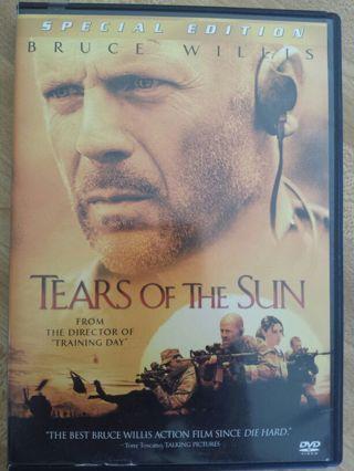 TEARS OF THE SUN DVD, BRUCE WILLIS