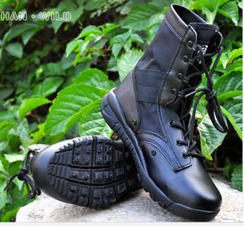 Boot For Men Breathable Oxford Light Smooth Desert Combat Shoes Men's Leg Warmers