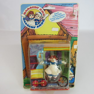 Vintage Raggedy Ann PVC Figure 1988 Sealed NEW Old Stock Tara Toy