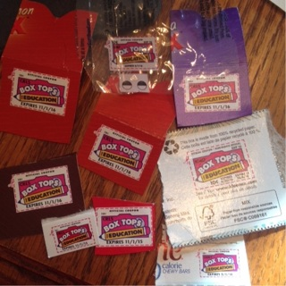 9+ Box Tops for Education
