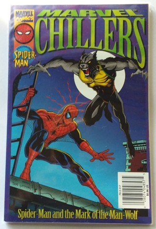 Marvel Chillers Spider-Man and the Mark of the Man-Wolf TPB