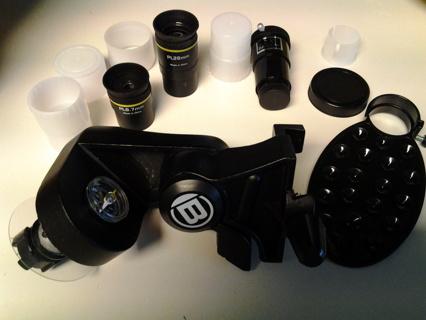 Telescope accessories set--Bresser brand--new in Box