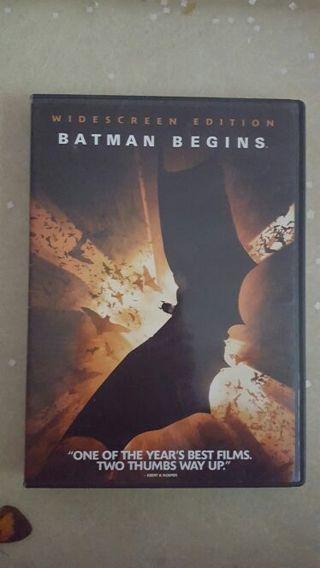 DVD: BATMAN BEGINS (Widescreen) *Free Shipping*
