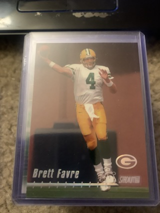 Brett Favre 1999 Stadium Club #80 Green Bay Packers