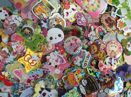 ☆ 20 Kawaii Sticker Flakes from My Collection ☆ Comes in Cute Envelope