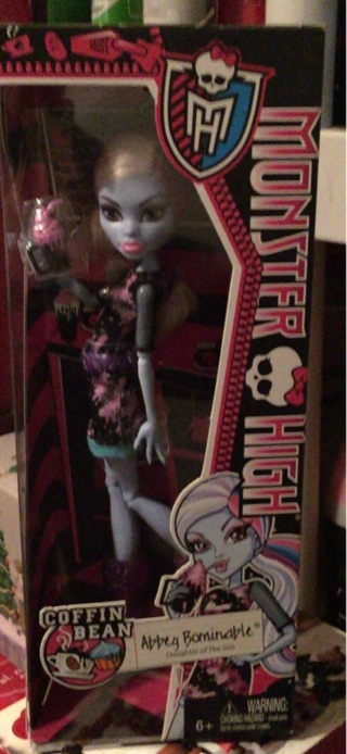 Monster High Coffee Bean Abbey Bominable