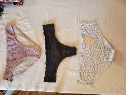 3pc New Panties Lot!