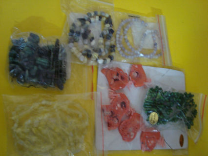 Lot of Beads for Jewelry Makeing, Crafts
