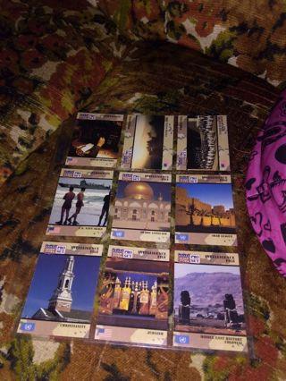 9 random desert storm cards