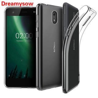 Crystal Transparent Soft Cover Case For Nokia 2.1 5.1 3.1 X6 6 2018 6.1 7 plus 1 3310 9 8 7 5 3 2