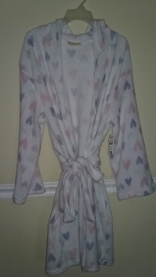 BRAND NEW Women's Bobbie Brooks Robe Plus Size 2X