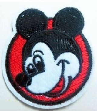 Mickey Mouse Head Patch IRON ON Patch Clothing accessories Embroidery Applique