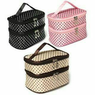 1pcs Mini Organza Case Travel Makeup Bag