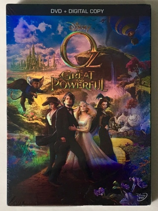 Disney Oz the Great and Powerful (DVD + Digital Copy Movie) 2013 - Brand New Factory Sealed!
