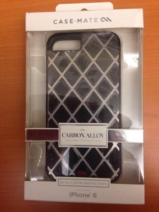 iPhone 6 Case Mate  New in box Carbon Alloy collector case
