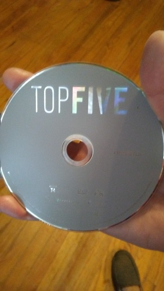 Top Five, DVD, EUC